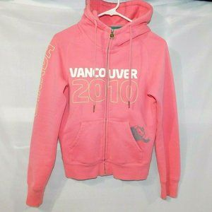 XS Vancouver 2010 Olympics Park Life Pink Hoodie